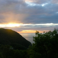 Woody Bay Sunset, Somerset